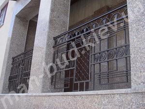 Кованые балконы фото №160