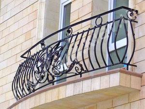Кованые балконы фото №161