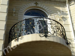 Кованые балконы фото №162