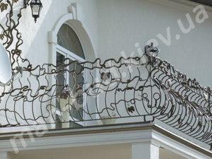 Кованые балконы фото №163