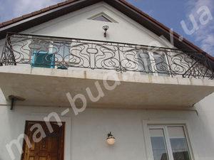 Кованые балконы фото №164