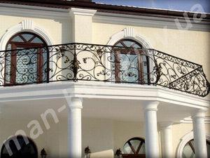 Кованые балконы фото №137