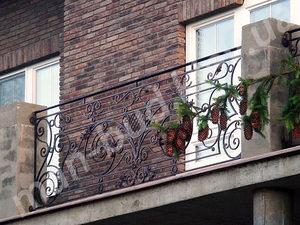 Кованые балконы фото №139