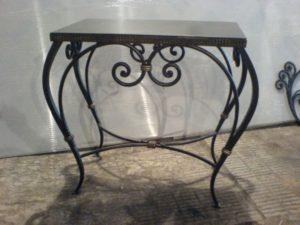 Кованые столы и стулья фото №4