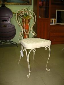 Кованые столы и стулья фото №5