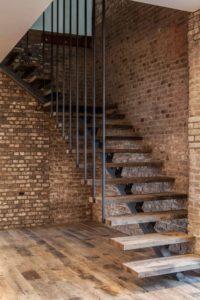 Металлические лестницы фото №1