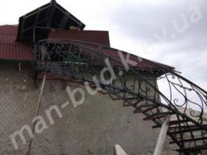 Винтовые лестницы фото №10
