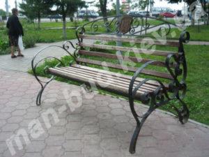 Кованые скамейки фото №10