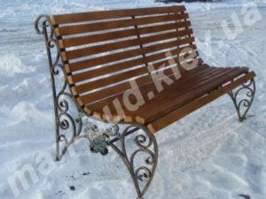 Кованые скамейки фото №11