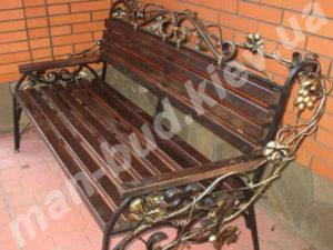 Кованые скамейки фото №12