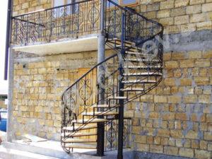 Винтовые лестницы фото №12