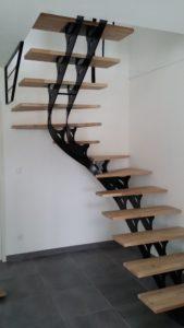 Металлические лестницы фото №11