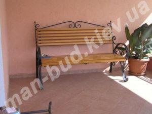 Кованые скамейки фото №16