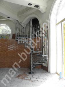Винтовые лестницы фото №17