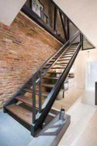 Металлические лестницы фото №7