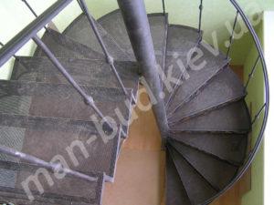 Винтовые лестницы фото №5