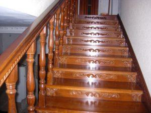 Резные лестницы, фото №10