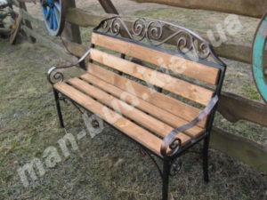 Кованые скамейки фото №18