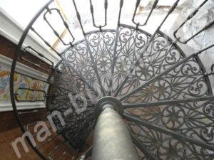 Винтовые лестницы фото №16
