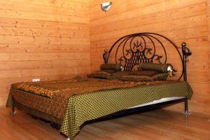 Кованая кровать №13