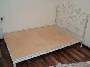 Кованая кровать №14