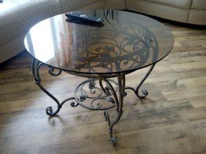 Кованые столы и стулья фото №40