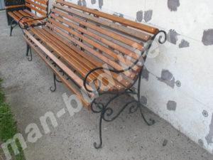Кованые скамейки фото №24