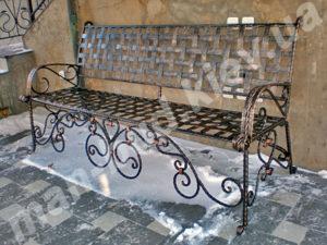 Кованые скамейки фото №25