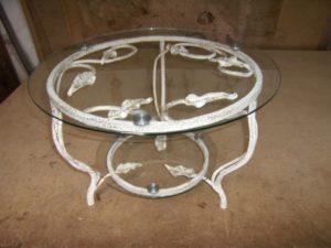 Кованые столы и стулья фото №46