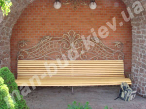 Кованые скамейки фото №1