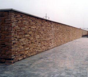 Заборы из камня, фото №3