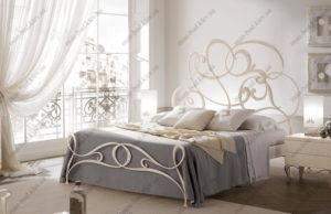 Кованая кровать №15