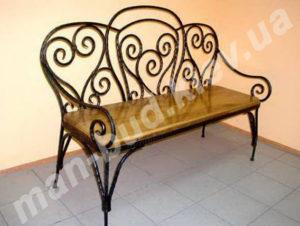 Кованые скамейки фото №2