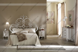 Кованая кровать №21