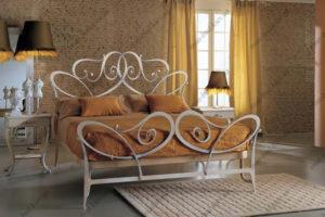 Кованая кровать №22