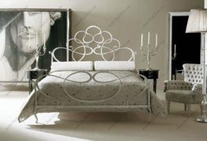Кованая кровать №24