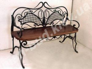 Кованые скамейки фото №3