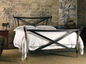 Кованая кровать №6