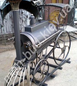 Кованый мангал фото №19