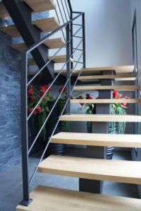 Металлические лестницы фото №3
