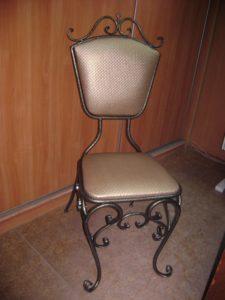 Кованые столы и стулья фото №8