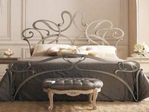 Кованая кровать №1