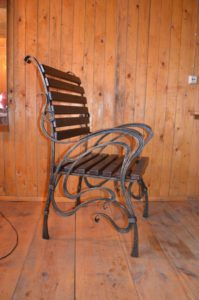 Кованые столы и стулья фото №24