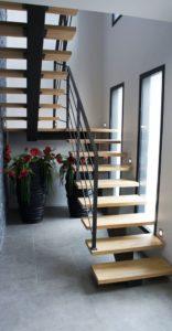 Металлические лестницы фото №8