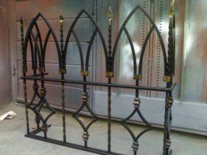 Кованые решетки на окна фото №16