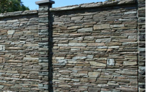 Заборы из камня, фото №8