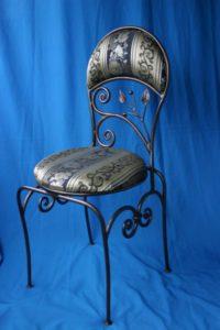 Кованые столы и стулья фото №21