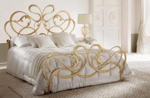 Кованая кровать №10