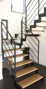Металлические лестницы фото №9