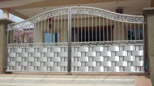 Ворота из нержавейки №
